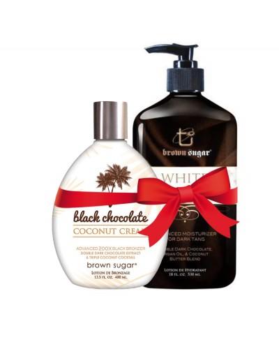 Black chocolate coconut...