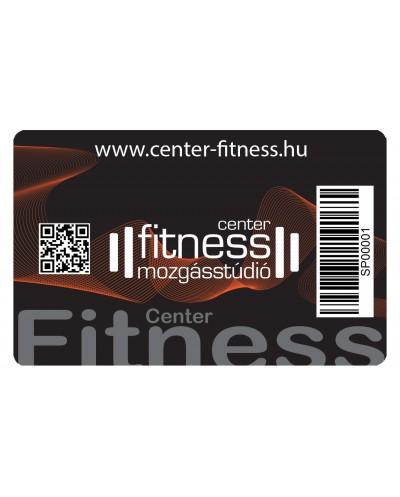 12 alkalmas Fitness bérlet